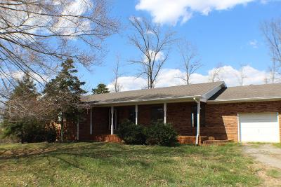 Cookeville Single Family Home For Sale: 8399 Hilham Road