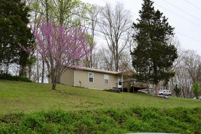 Crossville Single Family Home For Sale: 2715 Cox Valley Rd