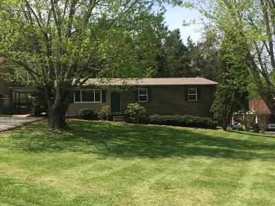 Cookeville Single Family Home For Sale: 1239 Pleasant View Dr.