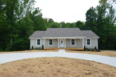 Cookeville Single Family Home For Sale: 5200 Verble Sherrell Road