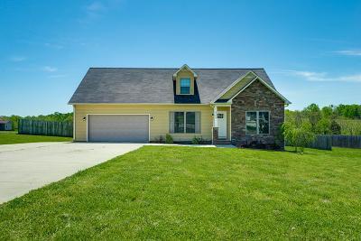 Cookeville Single Family Home Active Contingency: 4704 Ellen Circle