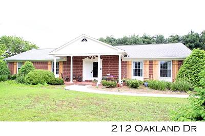 Sparta Single Family Home For Sale: 212 Oakland