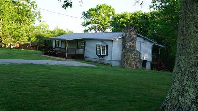 Crossville Single Family Home Active Contingency: 6152 Chestnut Hill Road