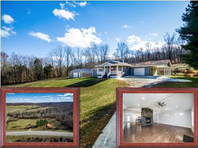 Livingston Single Family Home For Sale: 1526 Byrdstown Hwy