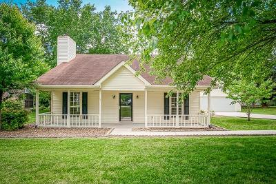 Cookeville Single Family Home Active Contingency: 605 Laurel Park Circle