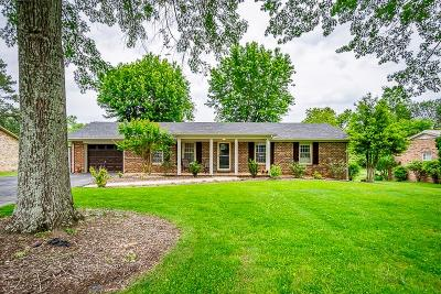 Cookeville Single Family Home For Sale: 1570 Bilbrey Park Drive
