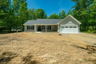 Crossville Single Family Home Active Contingency: 677 Robin Hood Drive