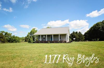 Sparta Single Family Home For Sale: 1177 Ray Broyles