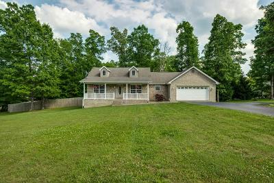 Crossville Single Family Home For Sale: 38 Obed Pt
