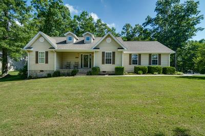 Crossville Single Family Home Active Contingency: 1033 Sunset Ridge Dr