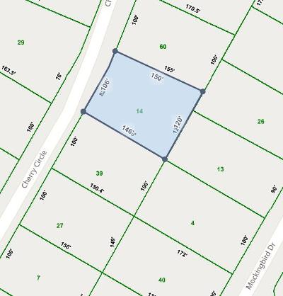 Residential Lots & Land For Sale: .38 Ac Cherry Circle