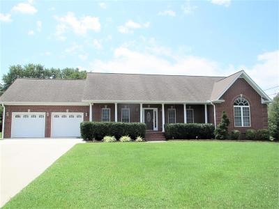 Cookeville Single Family Home For Sale: 1159 Fawn Drive