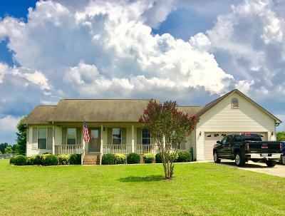 Cookeville Single Family Home Active Contingency: 557 Plunk Whitson Road