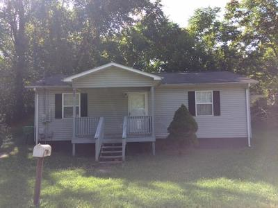 Jamestown TN Single Family Home For Sale: $50,000