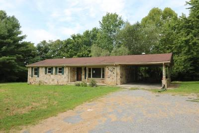Gainesboro Single Family Home For Sale: 2996 McCoinesville Rd