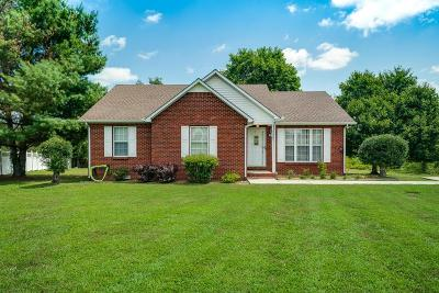 Cookeville Single Family Home For Sale: 3607 Castlebrooke Lane