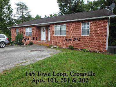 Crossville TN Rental For Rent: $575