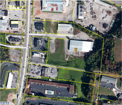 Cookeville, Baxter Commercial For Sale: 6.85 Ac South Jefferson