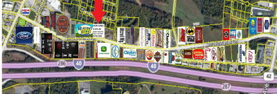 Cookeville Residential Lots & Land For Sale: 1515 Interstate Drive