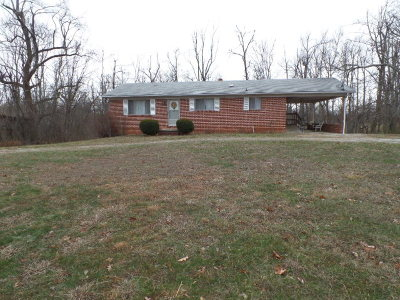 Sparta Single Family Home For Sale: 1777 White Oak Flatt Road