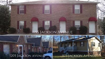Monterey Multi Family Home For Sale: 1173, 1205, & 1155 Jackson Avenue