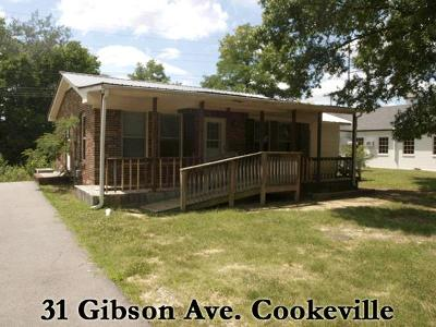 Cookeville TN Single Family Home For Sale: $775