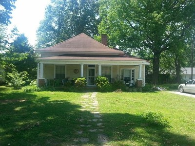 Cookeville Single Family Home For Sale: 1514 Dixie