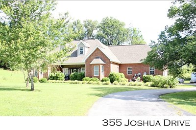 Sparta Single Family Home For Sale: 355 Joshua Drive