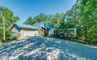 Single Family Home For Sale: 608 Cumberland Cove Road