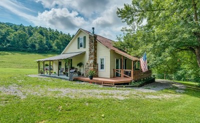 Monterey Single Family Home For Sale: 1368 Columbia Hill Road