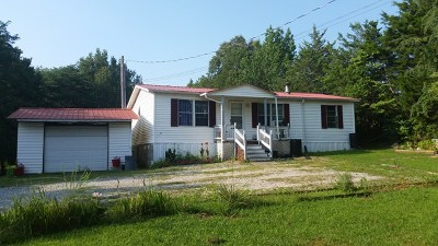 Cookeville Single Family Home For Sale: 226 Tommy Dodson Hwy