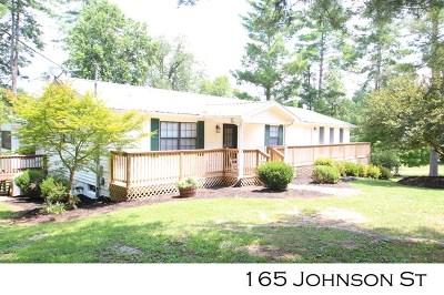 Sparta Single Family Home For Sale: 165 Johnson Street