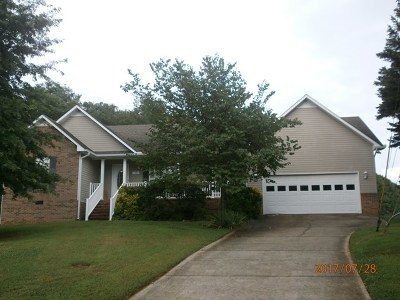 Cookeville Single Family Home For Sale: 1932 Bay View Dr