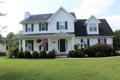Cookeville Single Family Home For Sale: 1264 Pimlico Dr