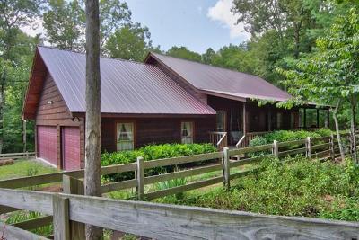 Allardt, Clarkrange, Grimsley, Jamestown, Monterey Single Family Home For Sale: 232 Wildcat Rd