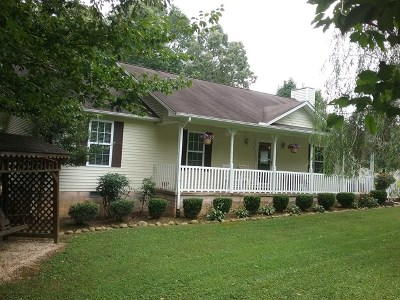 Sparta Single Family Home For Sale: 254 Walnut Trace