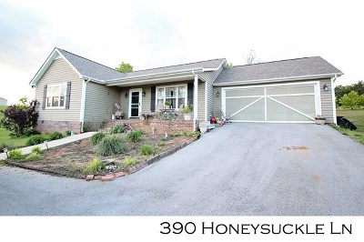 Sparta Single Family Home For Sale: 390 Honeysuckle Lane