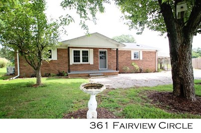 Sparta Single Family Home For Sale: 361 Fairview Circle