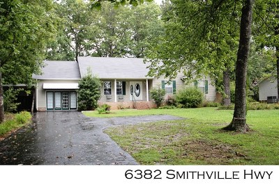 Sparta Single Family Home For Sale: 6382 Smithville Highway