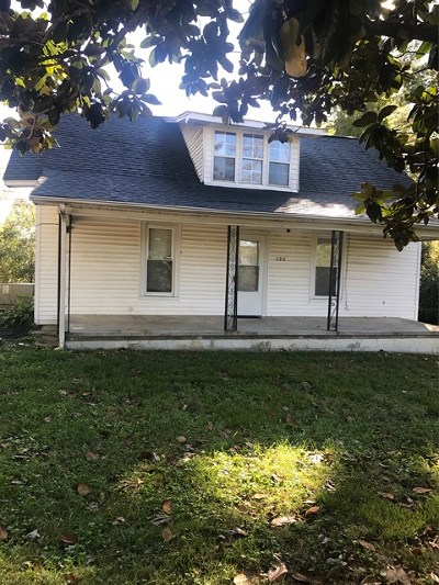 Cookeville TN Single Family Home For Sale: $124,900