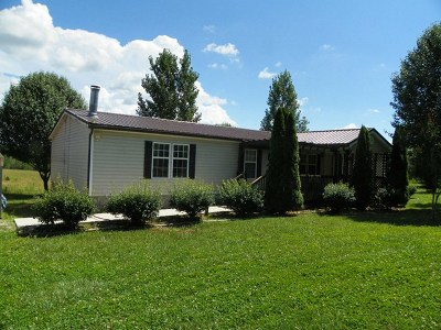 Sparta Single Family Home For Sale: 523 Bryan Gribble Road