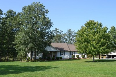 Crossville Single Family Home For Sale: 1406 Leffle Webb Road