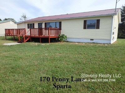 Cookeville TN Single Family Home For Sale: $699