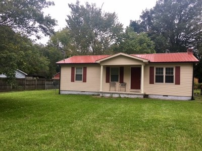 Cookeville TN Single Family Home For Sale: $87,500