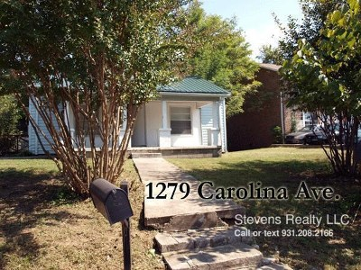 Cookeville Single Family Home For Sale: 1279 1279 Carolina