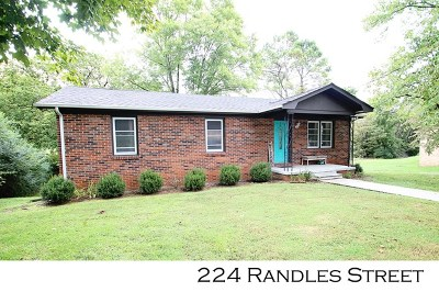 Sparta Single Family Home For Sale: 224 Randles