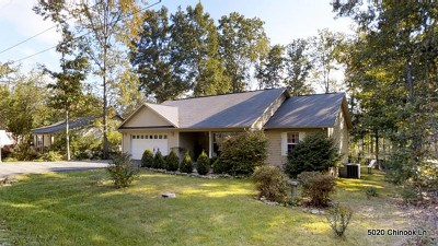 Crossville Single Family Home For Sale: 5020 Chinook Lane