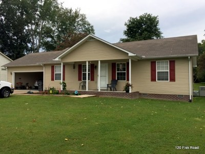 Cookeville Single Family Home For Sale: 1290 Fisk Road