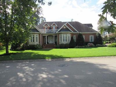 Cookeville Single Family Home For Sale: 1163 Sheraton Dr