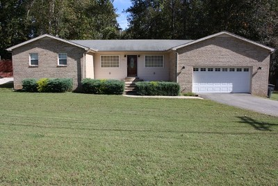 Cookeville Single Family Home For Sale: 1750 Bunker Hill Rd.